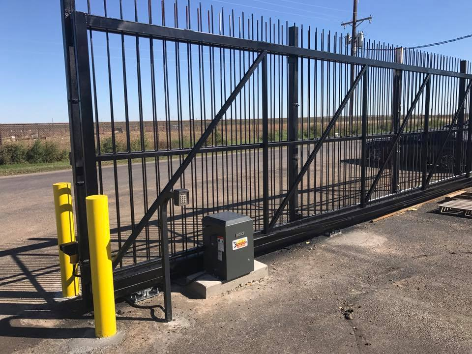 Custom metal gate in Lubbock, TX